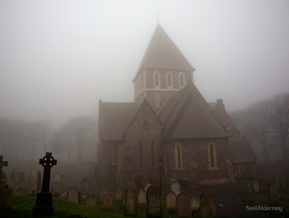 Fog in the Graveyard by NeilAlderney