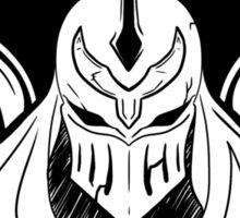 Shadow of Zed (B&W) Sticker