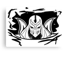 Shadow of Zed (B&W) Canvas Print