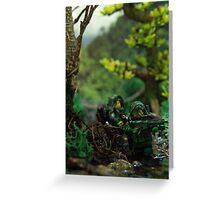 Lego jungle spec op Greeting Card