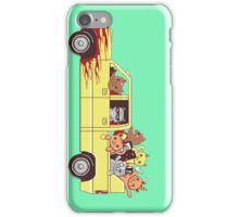 Cat wagon iPhone Case/Skin