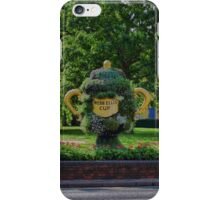 Rugby world cup flowers iPhone Case/Skin