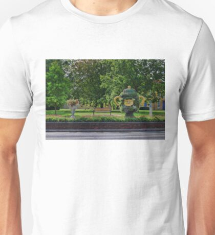 Rugby world cup flowers Unisex T-Shirt