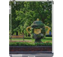 Rugby world cup flowers iPad Case/Skin