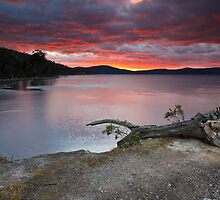 Sunrise Near Ninepin Point, Tasmania #11 by Chris Cobern