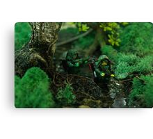 Lego jungle bis Canvas Print
