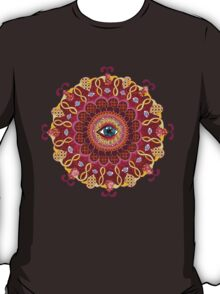 Cosmic Eye Mandala Tshirt T-Shirt
