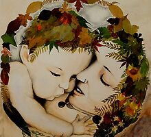 Mother and Child Earth by Freja Friborg