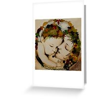 Mother and Child Earth Greeting Card