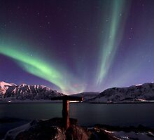 Aurora Borealis - Towards Grytoya island by Frank Olsen