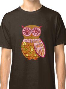 Retro Owl Shirt Classic T-Shirt