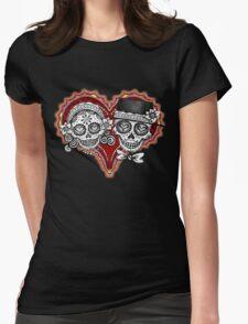 Sugar Skulls Couple Tshirt T-Shirt
