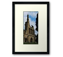 West Facade Framed Print