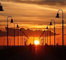 Sunset stroll by annalisa bianchetti