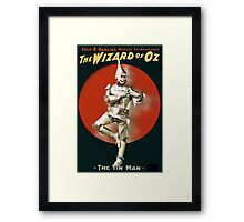 Wizard of Oz Tin Man  Framed Print