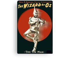 Wizard of Oz Tin Man  Canvas Print