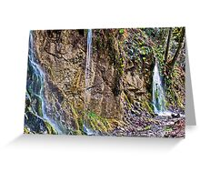 The Cascades Greeting Card