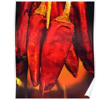 Chillies in Oil Poster