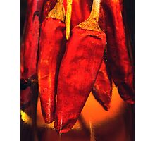 Chillies in Oil Photographic Print