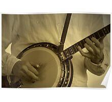 Strummin' On The Old Banjo Poster