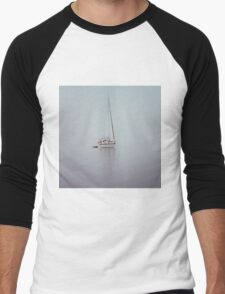 misty weather Men's Baseball ¾ T-Shirt