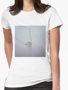 misty weather Womens Fitted T-Shirt