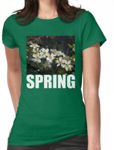 SPRING t Womens Fitted T-Shirt