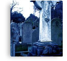Eleanor Rigby Nobody Came Canvas Print