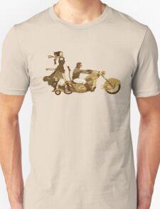 Steam Punk T-shirt - Bonnie and Clyde T-Shirt