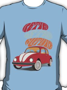 VW Beetle - Retro Is the Future T-Shirt