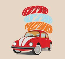 VW Beetle - Retro Is the Future Unisex T-Shirt
