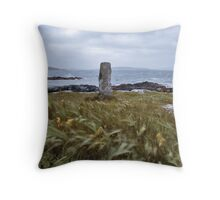 Standing Stone, Western Isles Throw Pillow