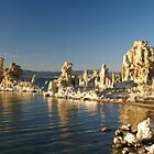 Tufa formations at Mono Lake by Alex Cassels