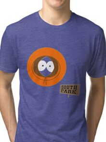 Invisible Kenny form South Park Tri-blend T-Shirt