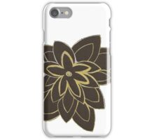 Styled Flower iPhone Case/Skin