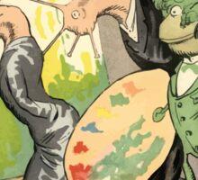 Theodor Kittelsen Genialt genius 1894 Sticker