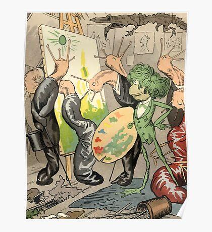 Theodor Kittelsen Genialt genius 1894 Poster