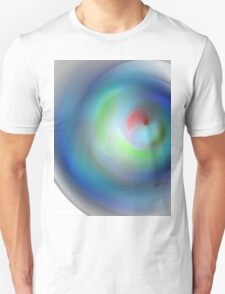 abstract composition in soft blue tones T-Shirt