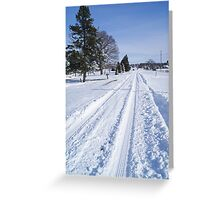 Fulfs Road Greeting Card