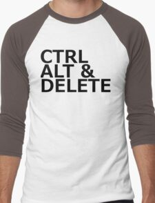 CTRL ALT DELETE Men's Baseball ¾ T-Shirt