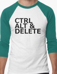 CTRL ALT DELETE Men's Baseball ¾ T-Shirt