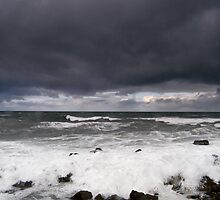 High Winds, North Sea by Tim Collier