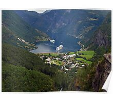 Geiranger, Norway Poster
