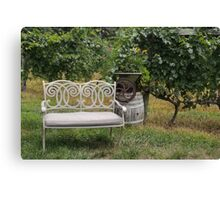 Time in the Vineyard Canvas Print