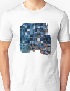 Abstract cubic composition T-Shirt