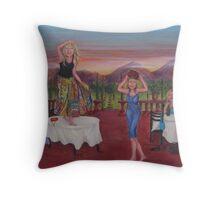 Tuscan Caberet 2 Throw Pillow