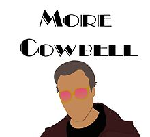 SNL Christopher Walken More Cowbell Sketch by OutlineArt