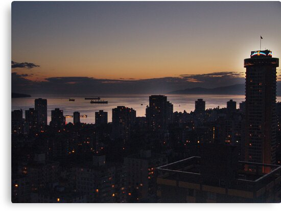 Vancouver Evening by George Cousins