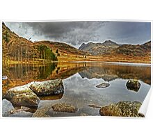 Blea Tarn....Rocks and Reflections Poster