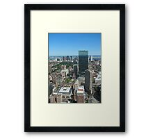 Beautiful Boston Framed Print